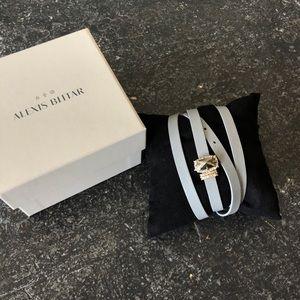 Alexis Bittar Leather Wrap Bracelet